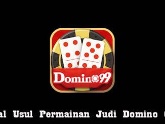 Asal Usul Permainan Judi Domino Qq